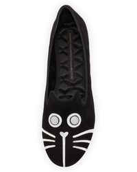 Marc Jacobs Rue Catface Smoking Slipper - Lyst