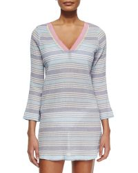 Soft Joie - Kirshna Striped Voile Tunic - Lyst