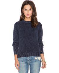 Neuw - Pigment Knit Crop Sweater - Lyst