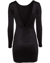 H&M Velvet Dress - Lyst