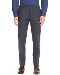Calibrate - Modern Straight Leg Chinos - Lyst