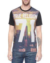 True Religion La Sunset Mens T-Shirt - Lyst