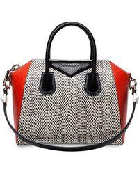 Givenchy Antigona Medium Mixed Snakeskin Satchel Bag - Lyst
