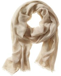 Banana Republic Colorblock Scarf Country Beige - Lyst