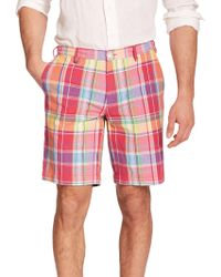 Polo Ralph Lauren Classic-Fit Madras Shorts multicolor - Lyst