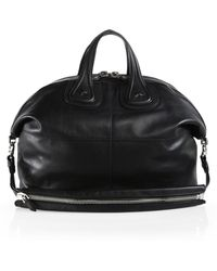 Givenchy Nightingale Leather Bag - Lyst