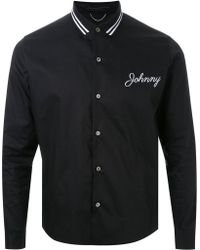 Christian Dada - Johnny Embroidery Shirt - Lyst