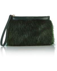 Karen Millen | Fur Pochette | Lyst