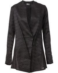 Lost & Found - Double-Breasted Jacquard Jacket - Lyst