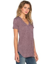 Saint Grace - Lax Oversized V Neck Tee - Lyst