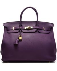 Heritage Auctions Special Collection Hermes 40Cm Anemone Togo Birkin - Lyst