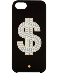 Kate Spade Money Sign Iphone 5 Case - Lyst