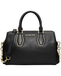 Michael Kors - Michael Vanessa Medium Chain Satchel - Lyst