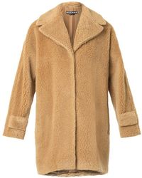 Rochas Boiled Wool Coat - Lyst