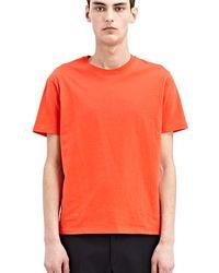 CALVIN KLEIN 205W39NYC - Women's Hert T-shirt In Red - Lyst
