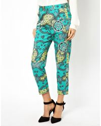French Connection Tropical Pants - Lyst