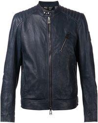 Belstaff 'Kirkham' Biker Jacket - Lyst
