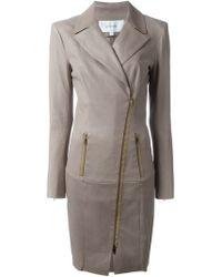 Jitrois | Zipped Up Coat | Lyst