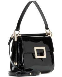 Roger Vivier Miss Viv' Mini Evening Patent Leather Shoulder Bag - Lyst