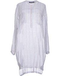 Antik Batik Short Dress white - Lyst