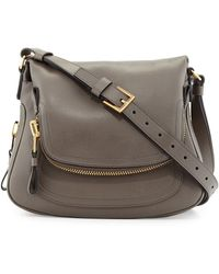 Tom Ford Jennifer Medium Leather Crossbody Bag - Lyst