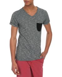 Eleven Paris Babico Grey Cotton-Jersey T-Shirt - Lyst