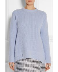 Proenza Schouler Oversized Cotton and Cashmere-blend Sweater - Lyst
