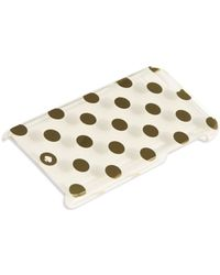 Kate Spade Metallic Polka Dot Iphone 6 Case - Lyst