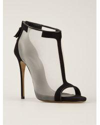 Casadei T-Bar Sandals - Lyst