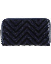 Versace Jeans | blue Wallet | Lyst