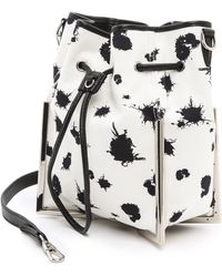 3.1 Phillip Lim Scout Small Cross Body Bag Blackwhite - Lyst