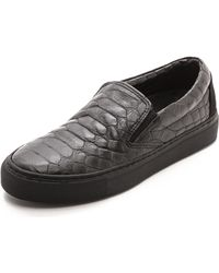 Won Hundred - Willow Slip On Trainers - Black - Lyst