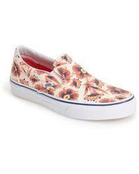 Vans 'Classic' Slip-On Sneaker multicolor - Lyst