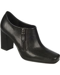 Franco Sarto Zodiac Faux Leather Ankle Boots - Lyst