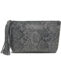 Mondrina Large Jezebel In Grey Snake - Lyst