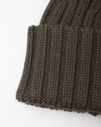 MM6 by Maison Martin Margiela - Rib Knit Beanie - Lyst