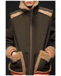 Preen | Kensal Fur Coat | Lyst