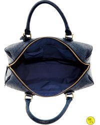 Banana Republic Factory Navy Satchel Navy Star - Lyst