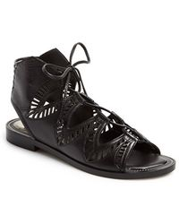 Dolce Vita 'Deklon' Leather Gladiator Sandal - Lyst