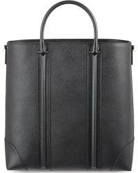 Givenchy Textured Leather Tote Black - Lyst