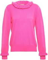 Christopher Kane Frilled Jumper - Lyst