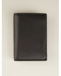 Gucci Textured Card Holder - Lyst