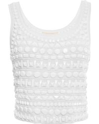 Naeem Khan - Beaded Tank - Lyst