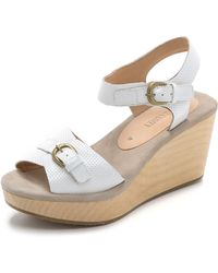 Rachel Comey Ogden Wedges - White Perforated - Lyst