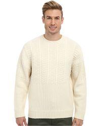 Pendleton Merino Stitch Crew Sweater - Lyst