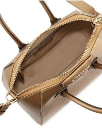 Givenchy Mini Antigona Metallic Satchel - Lyst