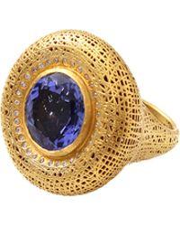 Yossi Harari - Lace Tanzanite Ring - Lyst