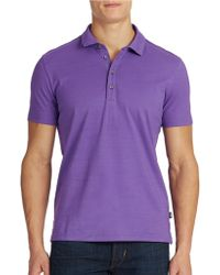 Hugo Boss Rapino 41 Cotton Polo Shirt - Lyst