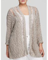 Bb Dakota Plus Muse Knit Cardigan - Lyst