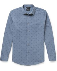 Paul Smith Paisley-Patterned Cotton-Blend Shirt - Lyst